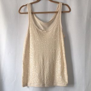 J. Crew Sequin Tank Top